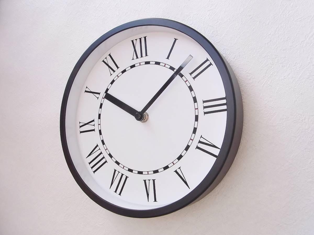 【新品送料無料】TOKYO CLOCK シンプル掛け時計【solitus ソリトゥス】_画像2