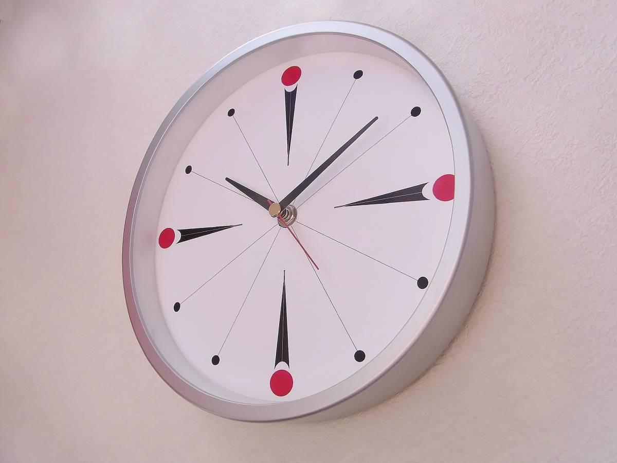 【新品送料無料】TOKYO CLOCK シンプル掛け時計【torpe トルぺ】_画像2