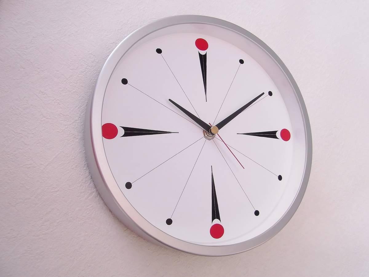 【新品送料無料】TOKYO CLOCK シンプル掛け時計【torpe トルぺ】_画像3