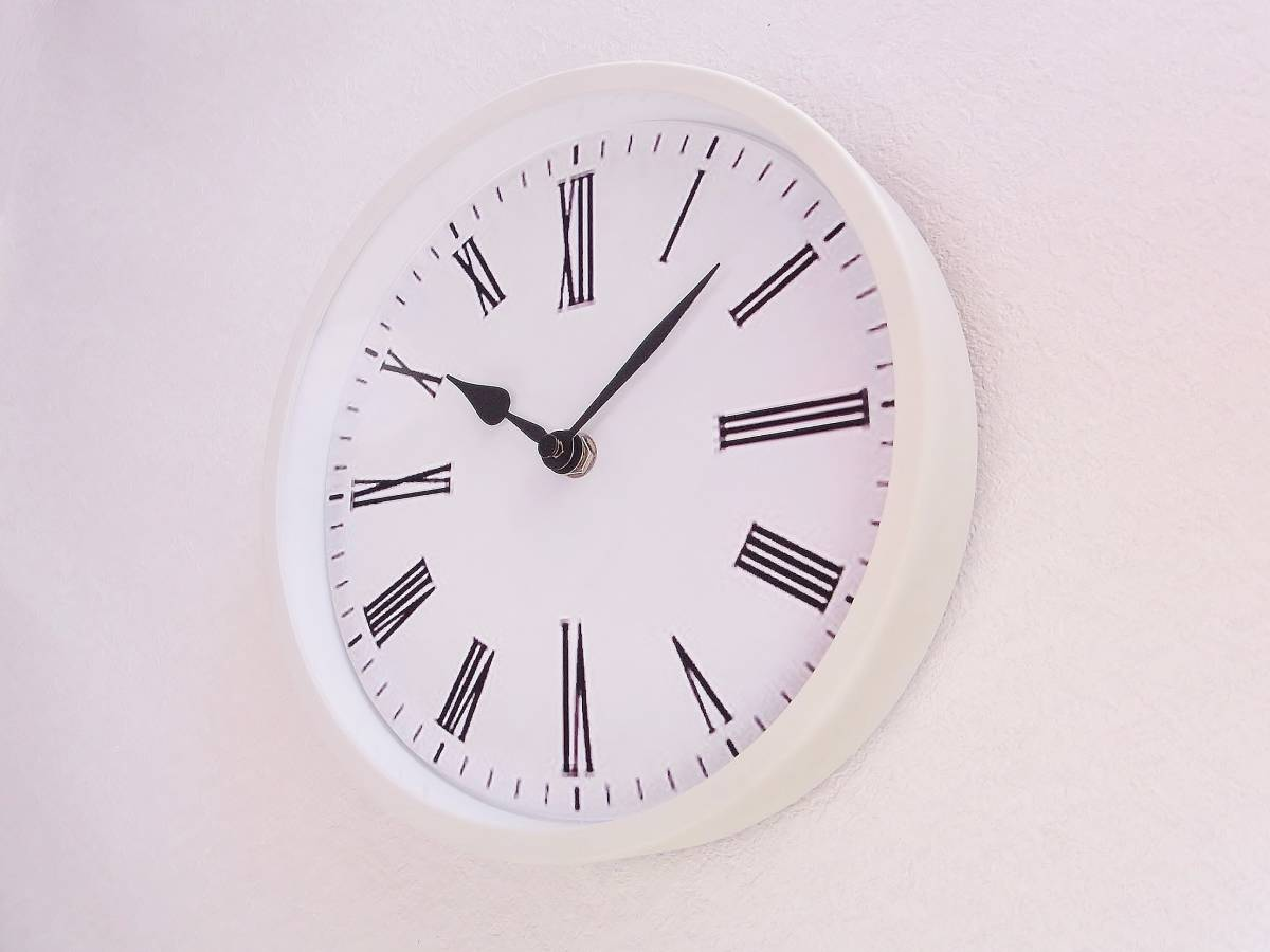 【新品送料無料】TOKYO CLOCK シンプル掛け時計【ratio ラティオ】_画像2