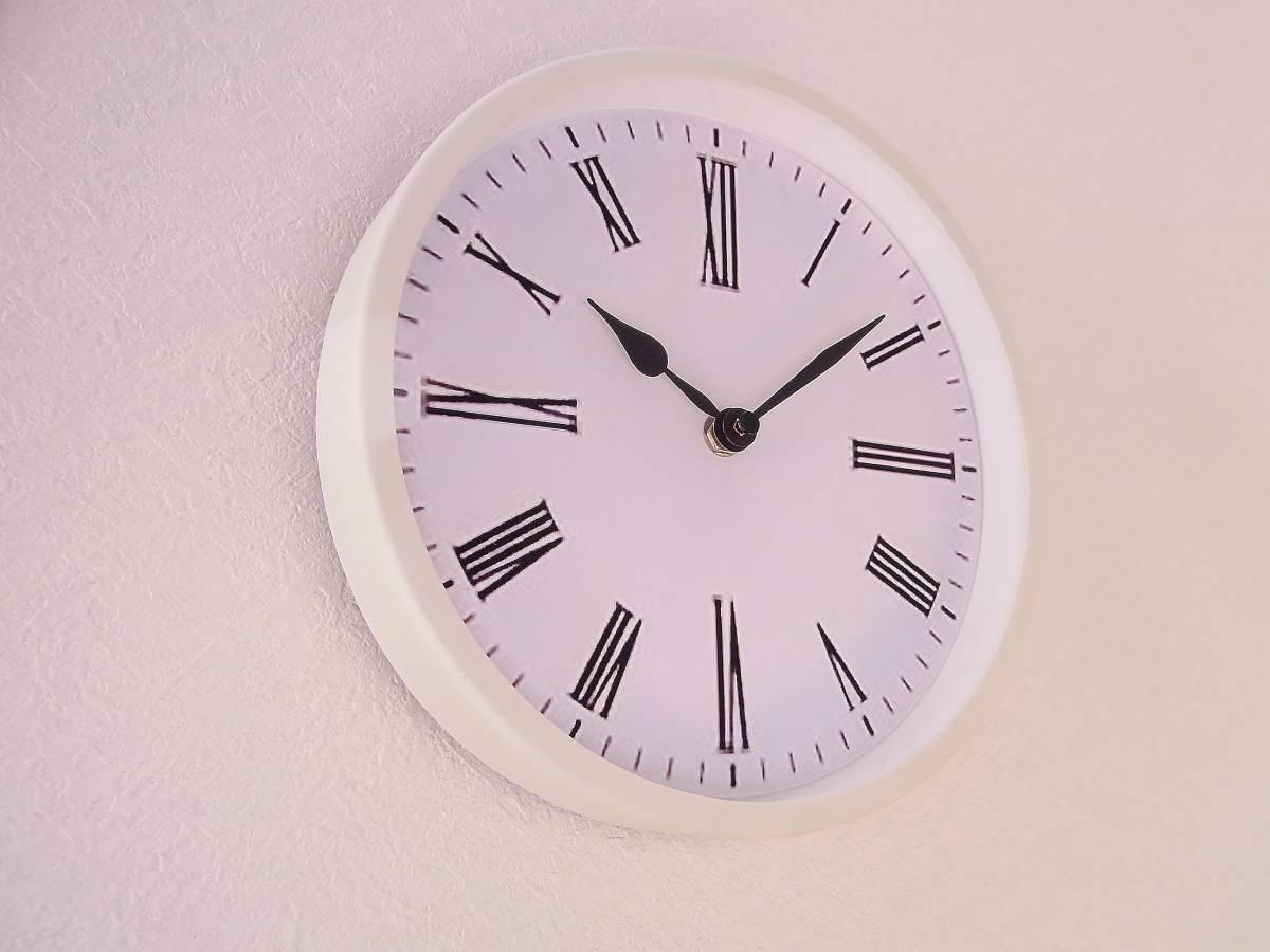 【新品送料無料】TOKYO CLOCK シンプル掛け時計【ratio ラティオ】_画像3