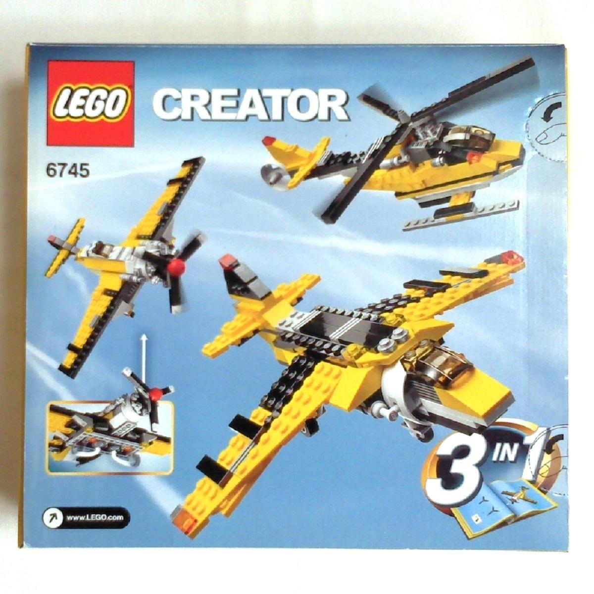 LEGO CREATOR 6745 PROPELLER POWER 3IN1 レゴ クリエイター プロペラパワー_画像2
