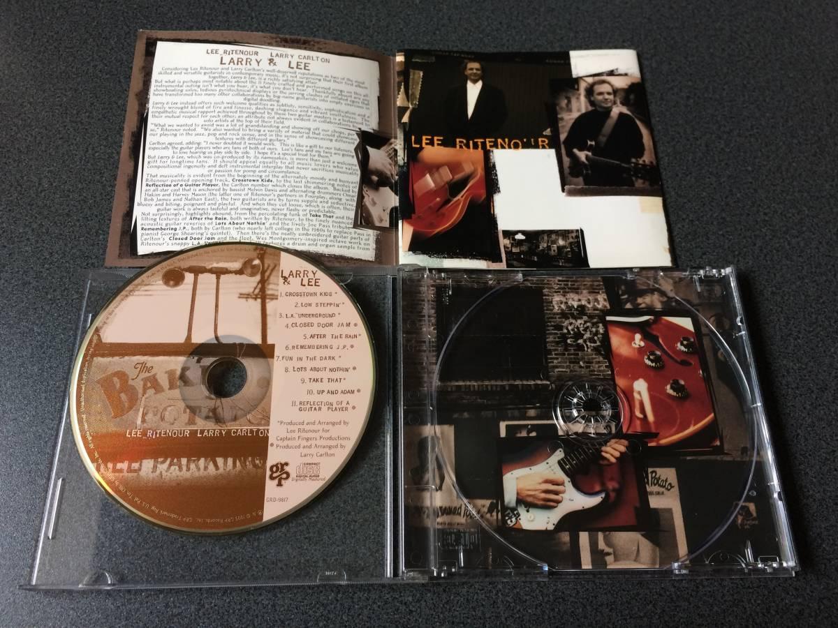 ★☆【CD】Larry & Lee / リー・リトナー&ラリー・カールトン LEE THORNBURG & LARRY CARLTON☆★_画像3