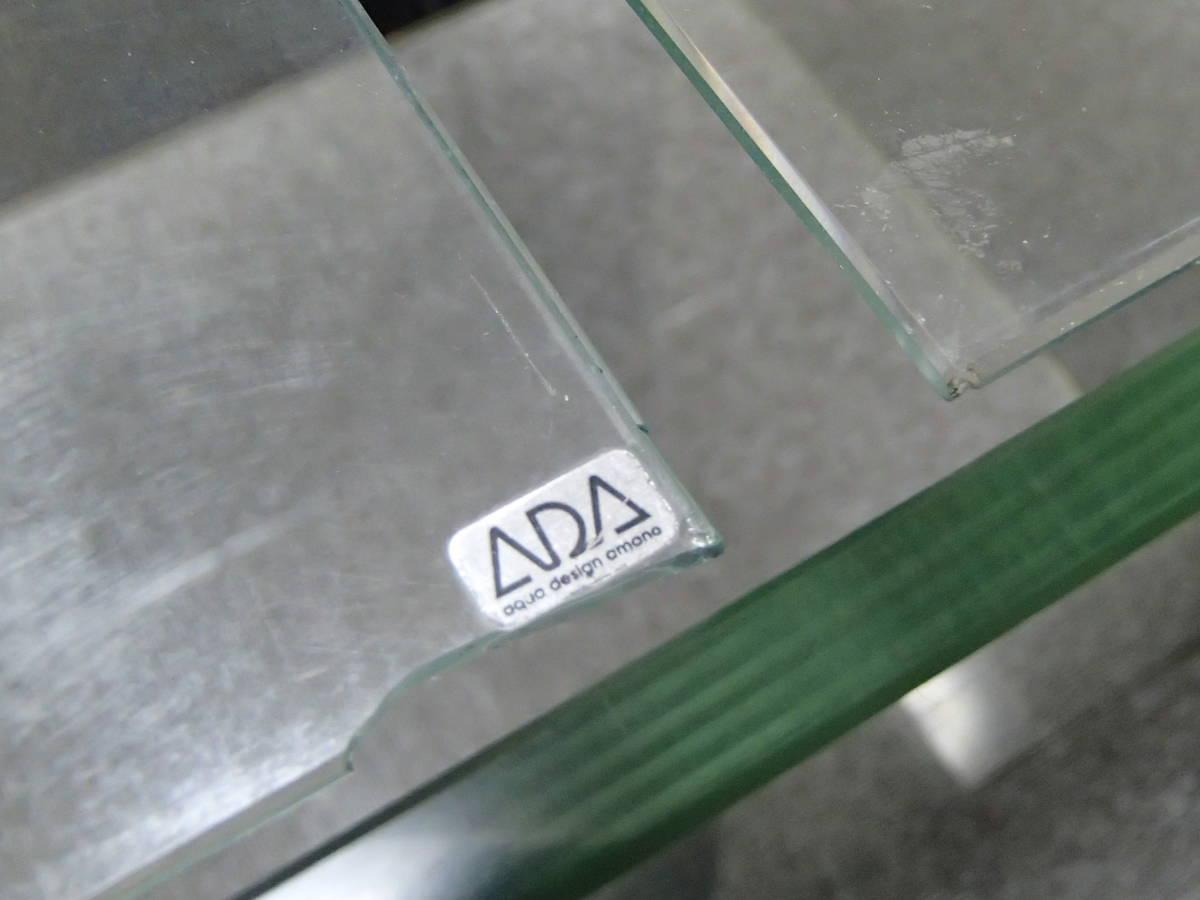 中古【ADA】60×45×45 ガラス8mm フック8個 ガラス蓋2枚②_画像6