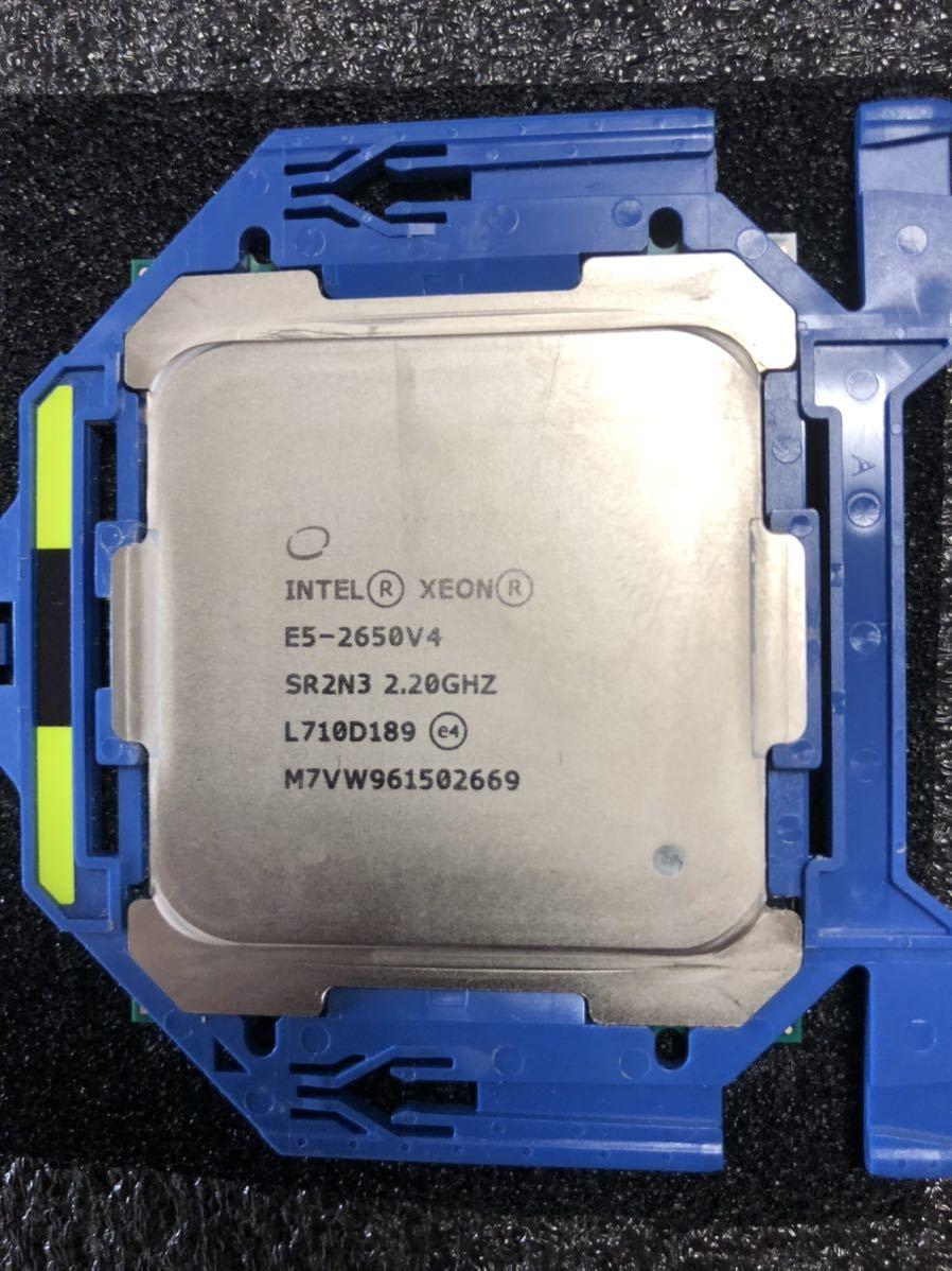 Intel CPU XEON E5-2650v4 2.2GHz 12C24T Broadwell 正規品 動作確認済み LGA2011_画像2