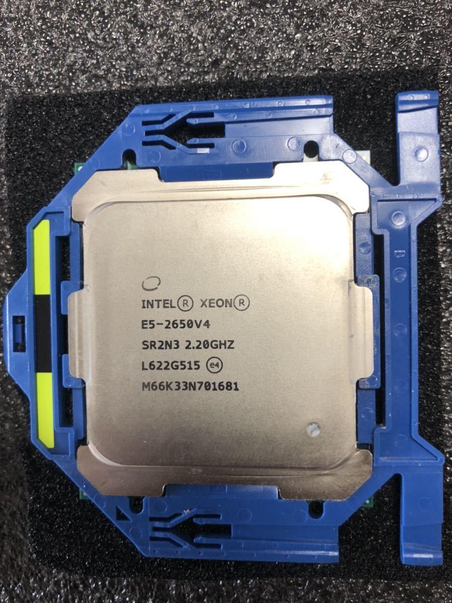 Intel CPU XEON E5-2650v4 2.2GHz 12C24T Broadwell 正規品 動作確認済み LGA2011_画像3