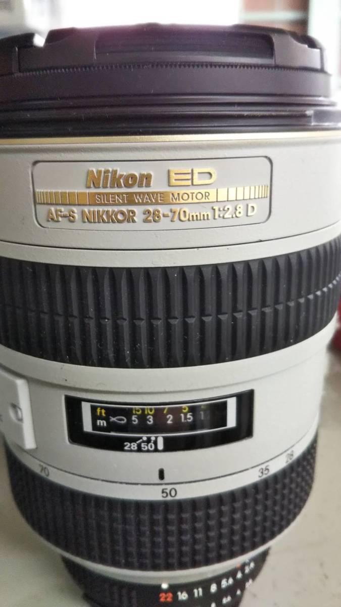 Nikon ED AF-S NIKKOR 26-70mm 1:2:8D レンズ HB-19 L37c 77mm 3点セット_画像2
