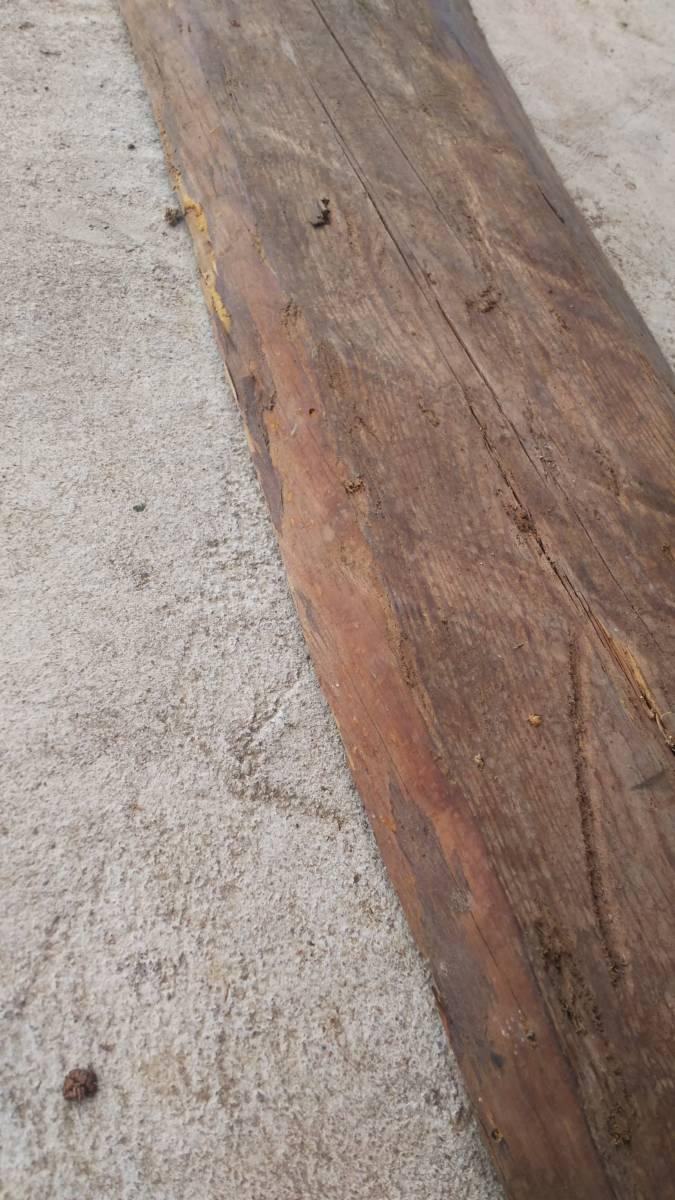 【築100年以上の古民家】曲がりと手鋸跡のある古材の板⑰ 木材 無垢材 天然素材 ビンテージウッド アンティーク DIY カフェ_画像8