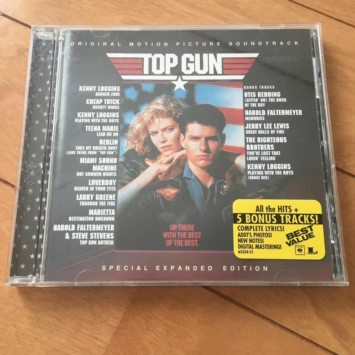 TOP GUN トップガン サントラCD サウンドトラック盤 SPECIAL EXPANDED EDITION 海外版