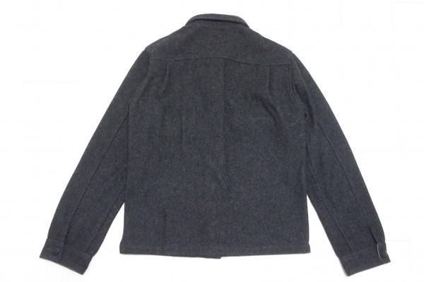 超美品!736-114◆TRICK or TREAT トリックオアトリート◆ジャケット ブルゾン MWサイズ(Lサイズ) 春秋 メンズ チャコールグレー_画像2