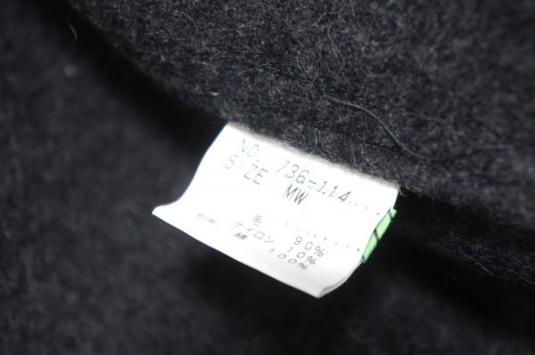 超美品!736-114◆TRICK or TREAT トリックオアトリート◆ジャケット ブルゾン MWサイズ(Lサイズ) 春秋 メンズ チャコールグレー_画像7