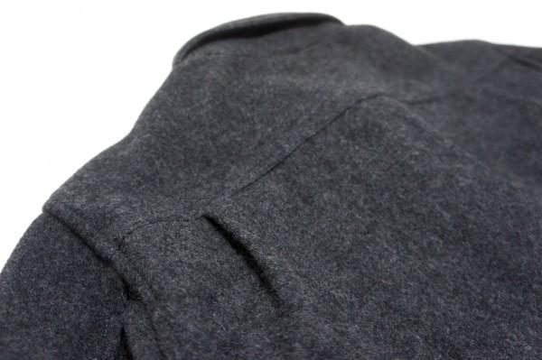 超美品!736-114◆TRICK or TREAT トリックオアトリート◆ジャケット ブルゾン MWサイズ(Lサイズ) 春秋 メンズ チャコールグレー_画像5