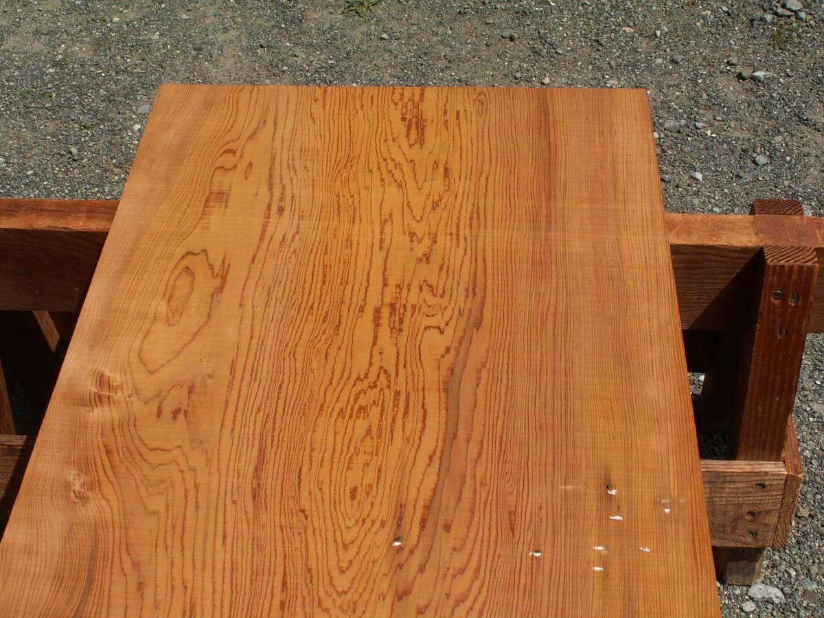 希少 屋久杉 独特な木目 巾広 腰板 世界遺産 E436_画像2