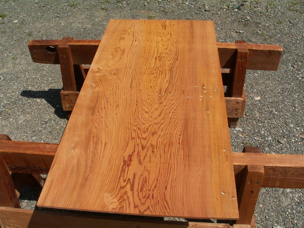 希少 屋久杉 独特な木目 巾広 腰板 世界遺産 E436_画像1