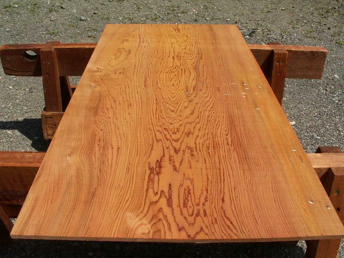 希少 屋久杉 独特な木目 巾広 腰板 世界遺産 E436_画像6