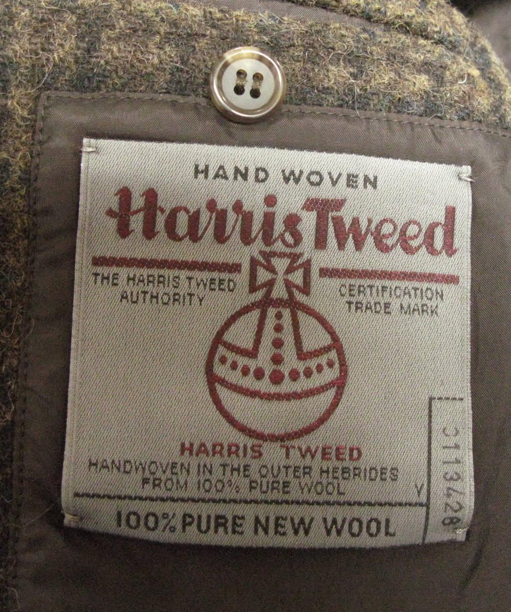 アンダーカバー UNDER COVER : Harris Tweed ツイード ジャケット ( ハリスツイード ダブルネーム UNDER COVER tweed jacket_画像5