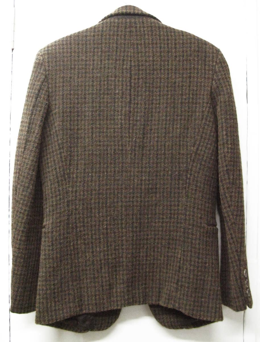 アンダーカバー UNDER COVER : Harris Tweed ツイード ジャケット ( ハリスツイード ダブルネーム UNDER COVER tweed jacket_画像2