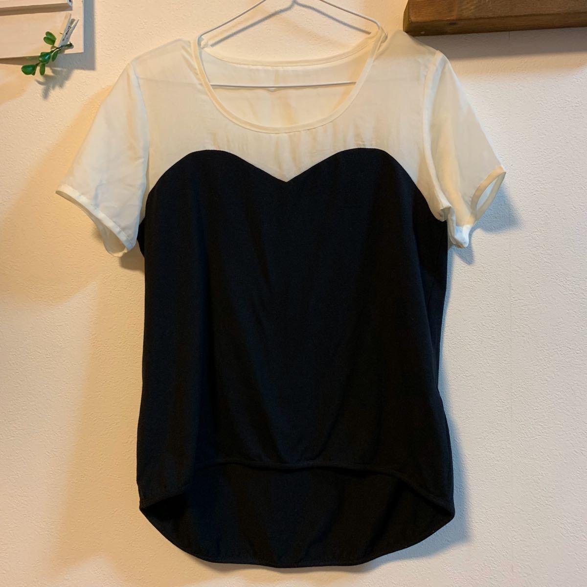 半袖 トップス Tシャツ カットソー フリーサイズ