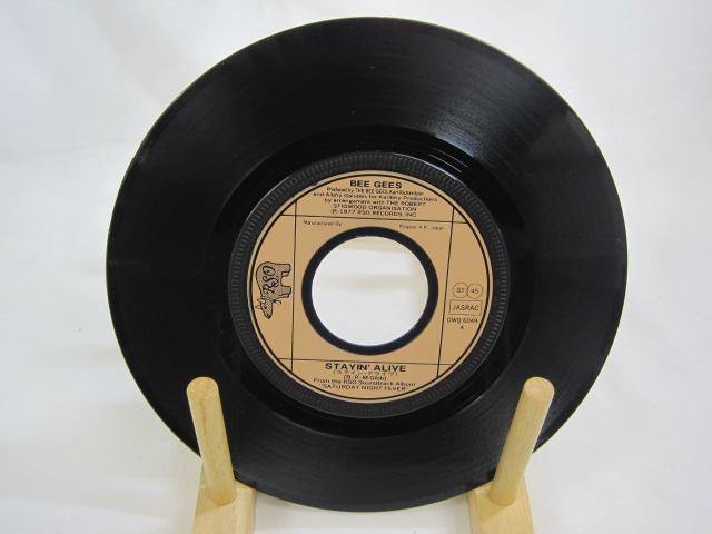 [200420182] ビー・ジーズ ステイン・アライヴ STAYIN' ALIVE アイキャント・ハヴ・ユー IF I CAN'T HAVE YOU EP レコード 【中古】_画像2
