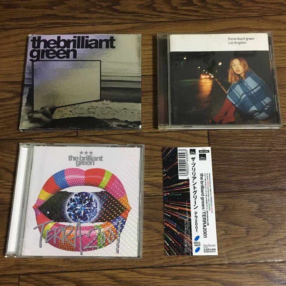 the brilliant green ザ・ブリリアントグリーン CDアルバム3枚セット ■the brilliant green /Los Angeles /TERRA2001_画像1