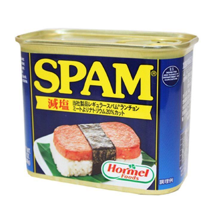【即決】SPAM スパム ポーク 減塩 24缶_画像1