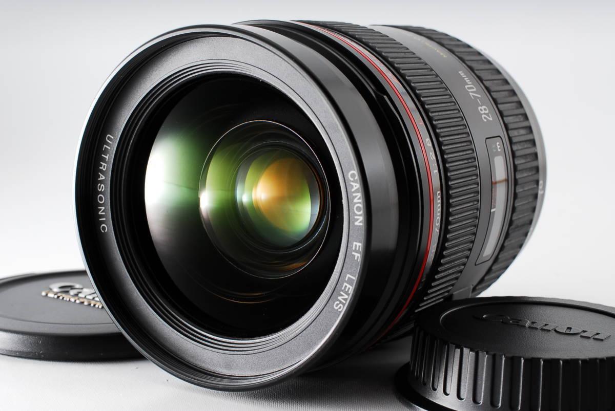 ★希少・新品級の外観★ Canon EF 28-70mm F2.8 L USM ★憧れの大三元初代Lレンズ くもり