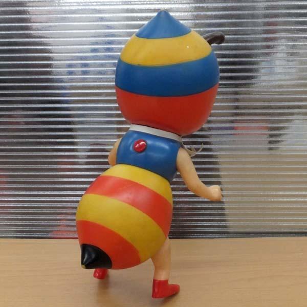 当時品 昆虫物語 みなしごハッチ ソフビ人形 全高21cm 鳴き笛 タツノコプロ 札幌_画像2