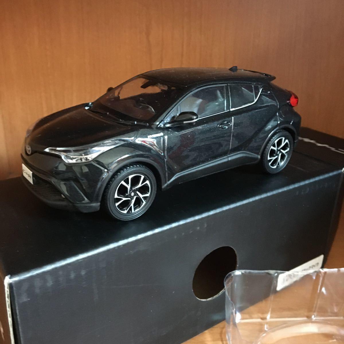 トヨタ C-HR 非売品ミニカー ブラック