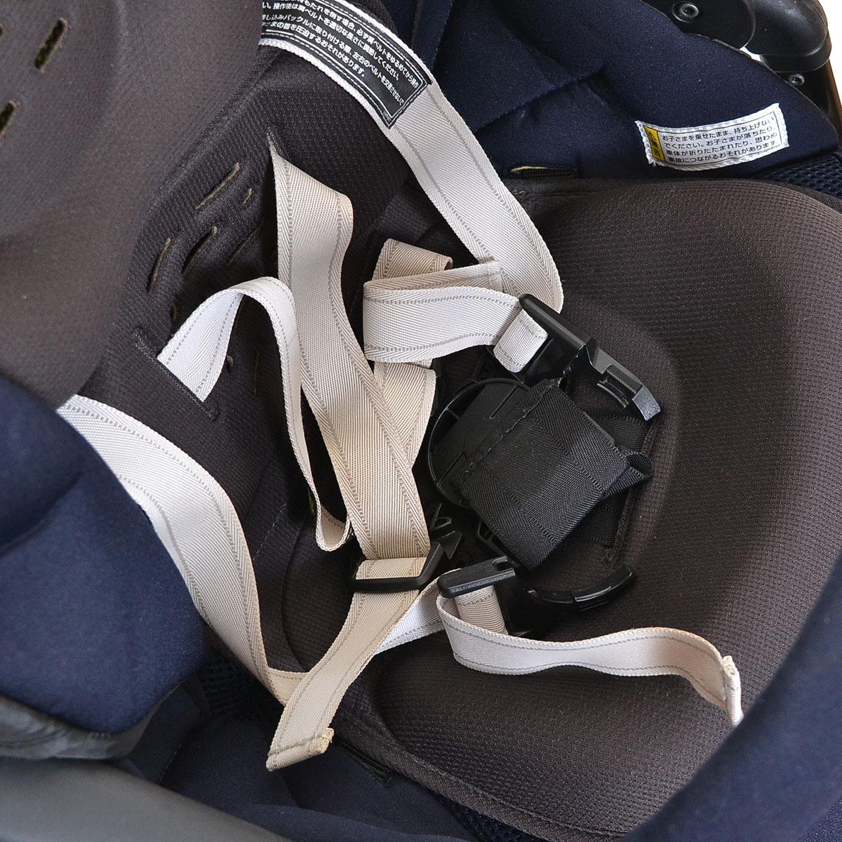 ○366633Combi コンビ ベビーカー メチャカル ハンディ オート4キャス Compact エッグショック HG 生後1ヵ月~36ヶ月頃 ソワレネイビー_画像7