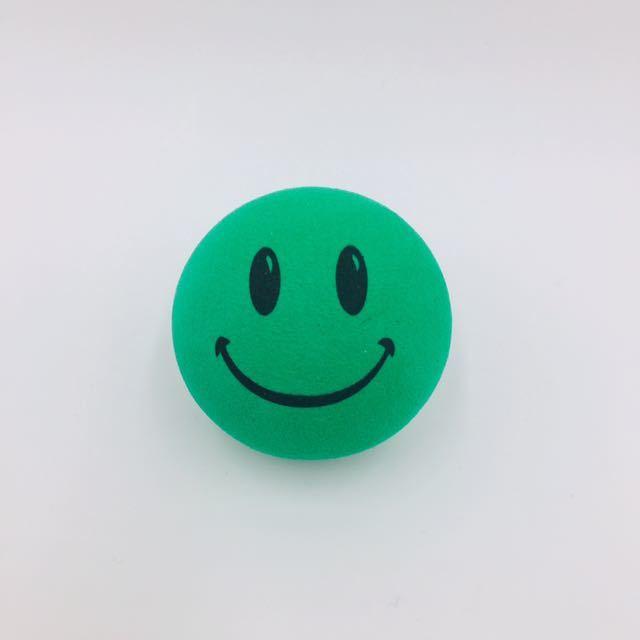 大人気☆ スマイリー 緑 アンテナトッパーアンテナボール USDM ビートル ワーゲン アメ車トラック Nボックス ホットロッド カスタム JSC88_画像1