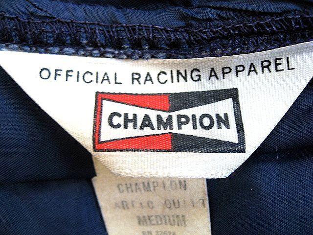 1970's CHAMPION チャンピオン スパークプラグ ビンテージ 中綿 レーシング Mサイズ 検 FIRESTONE テンダーロイン BELL 500 ハーレー BUCO_画像4