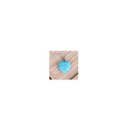 A0067:ファッション 混合色 天然石 クリスタル チャーム ペンダント ハートペンダント ジュエリー 作り良い ネックレス_カラー5