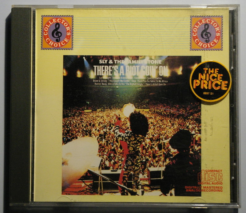 """CD スライ&ザ・ファミリー・ストーン 暴動 Sly & The Family Stone """"There's a Riot Goin' On"""" 輸入盤 中古"""