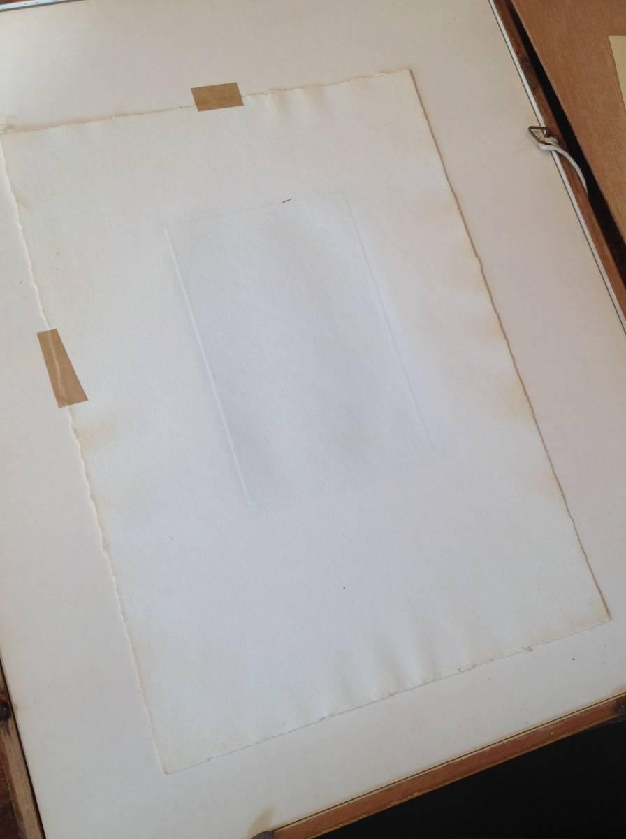 真作保証 駒井哲郎 銅版画 1966年作 西洋人形 限定200部 作家略歴付き_画像8