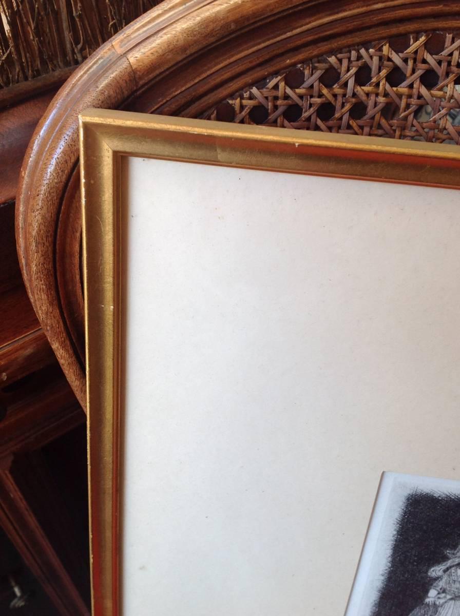 真作保証 駒井哲郎 銅版画 1966年作 西洋人形 限定200部 作家略歴付き_画像6