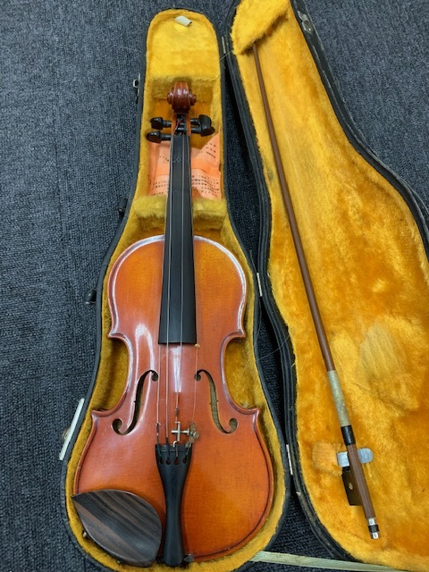 スズキバイオリン 1/4 NO.330 1975年製 SUZUKI Violin Nagoya 弦楽器 虎杢