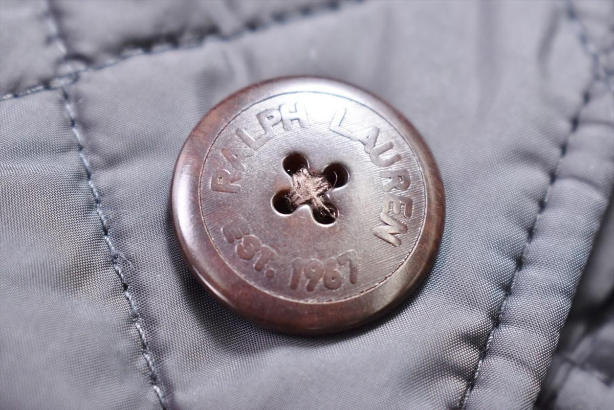 ラルフローレン キルティング コート 11 ブラック 長袖 Ralph Lauren 2004WS015_画像8