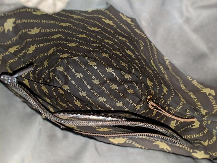 【送料無料】ハンティングワールド バケツ型 ハンドバッグ トートバッグ レザー ナイロン キャンバス 革 ショルダーバッグ