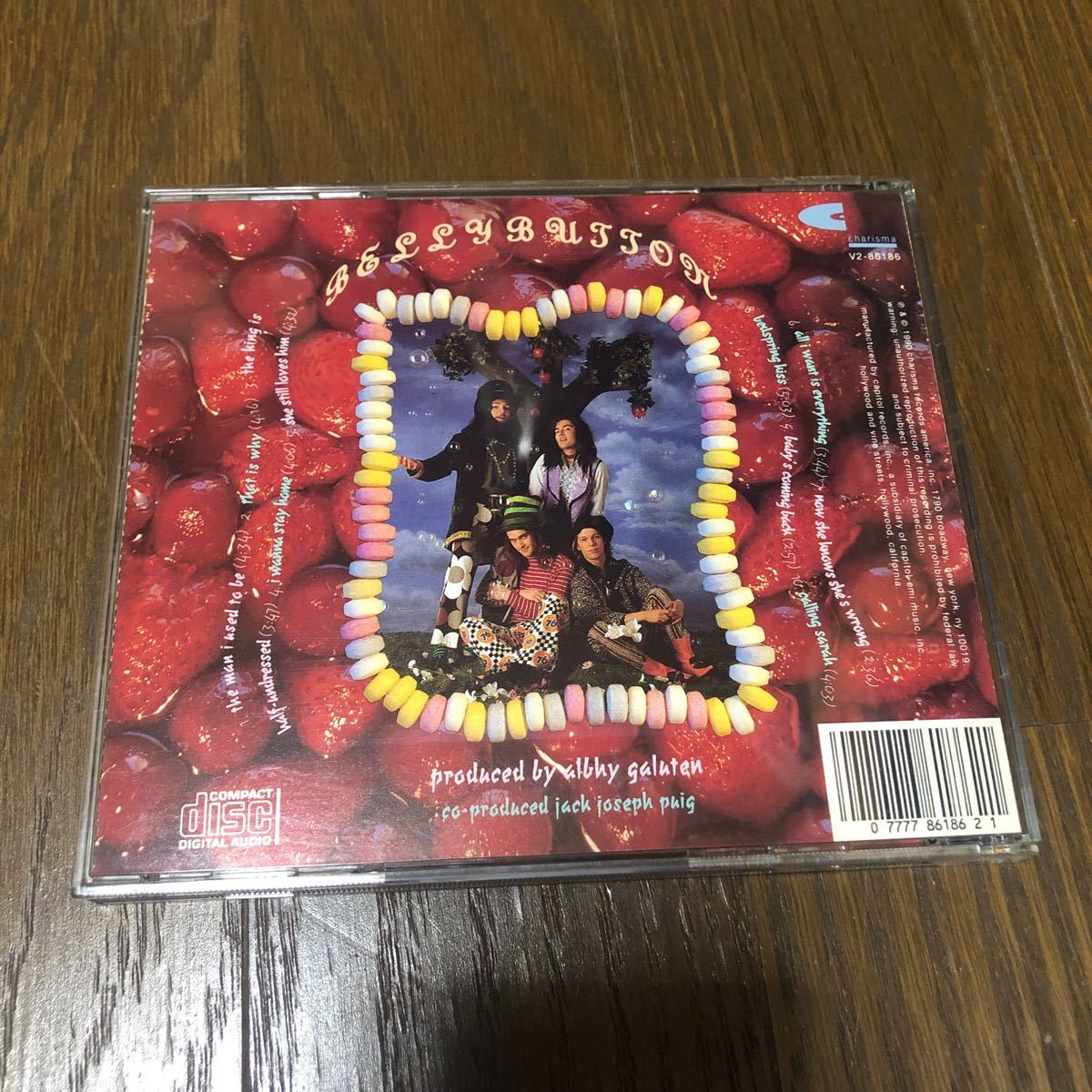 Jellyfish Bellybutton USA盤CD