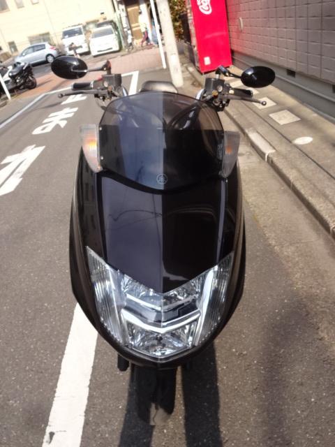 「マグザム250 SG21 茶 ノーマル車 通勤。通学に!タイヤ新品」の画像2