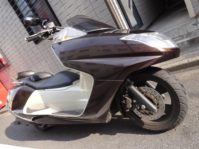 「マグザム250 SG21 茶 ノーマル車 通勤。通学に!タイヤ新品」の画像1