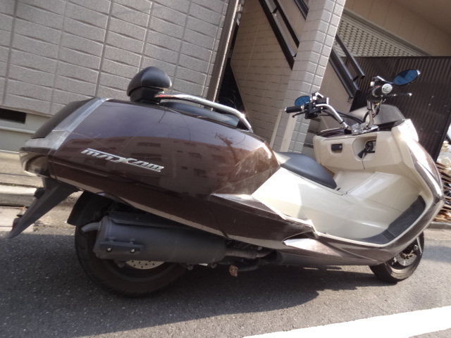 「マグザム250 SG21 茶 ノーマル車 通勤。通学に!タイヤ新品」の画像3