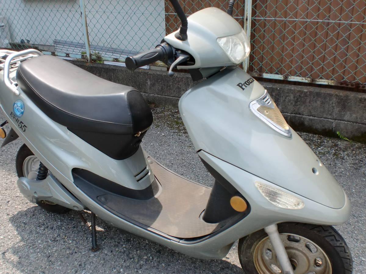 「EV-R55・電動バイク・Rrozza・キーなし 不動車 ジャンク 3N」の画像3