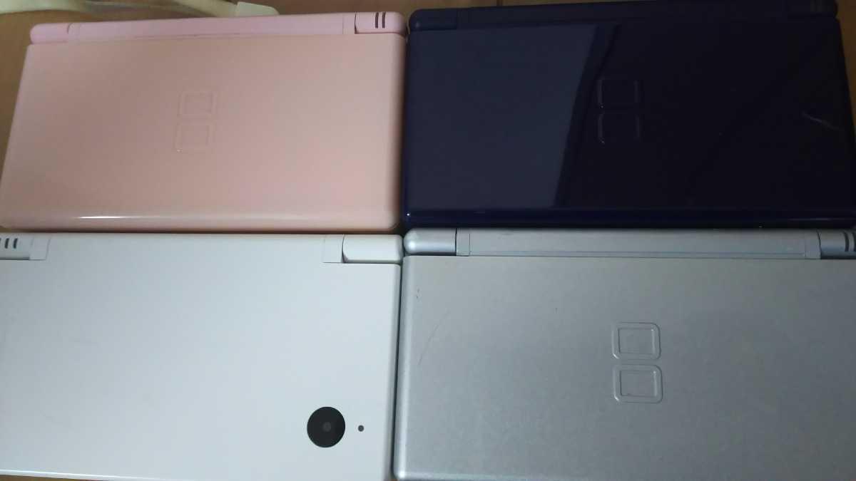 DS Liteなど本体4台 Wiiモーションプラス、PS1メモリーカード ゲームキューブメモリーカード DSカードリーダー スーファミ用マウス まとめ