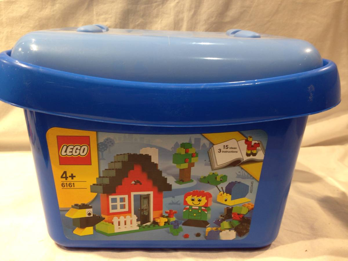 ★1599★LEGO レゴ  6161 青 200g ブロック おもちゃ 玩具 知育玩具 男の子_画像1
