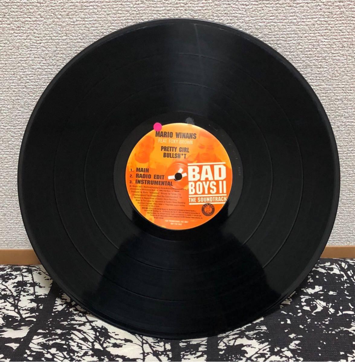 Bad Boys II Jay-Z Lalala バッドボーイズ ジェイジー 12inch レコード 激レア 廃盤 ヒップホップ アルバム クラブ ダンス_画像3