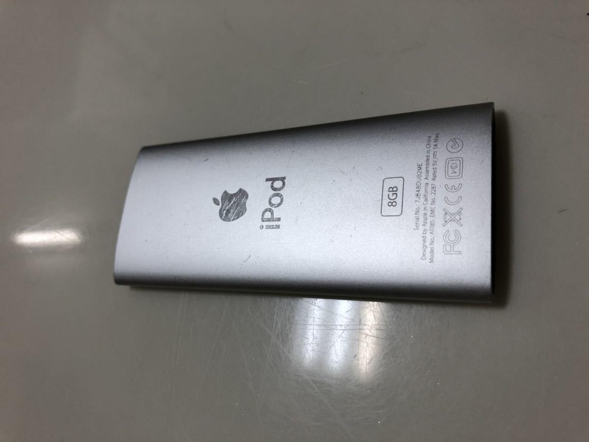 ★☆ジャンク品 1円から~iPod Model NO A1285最低落札無☆★ iPod nano _画像6