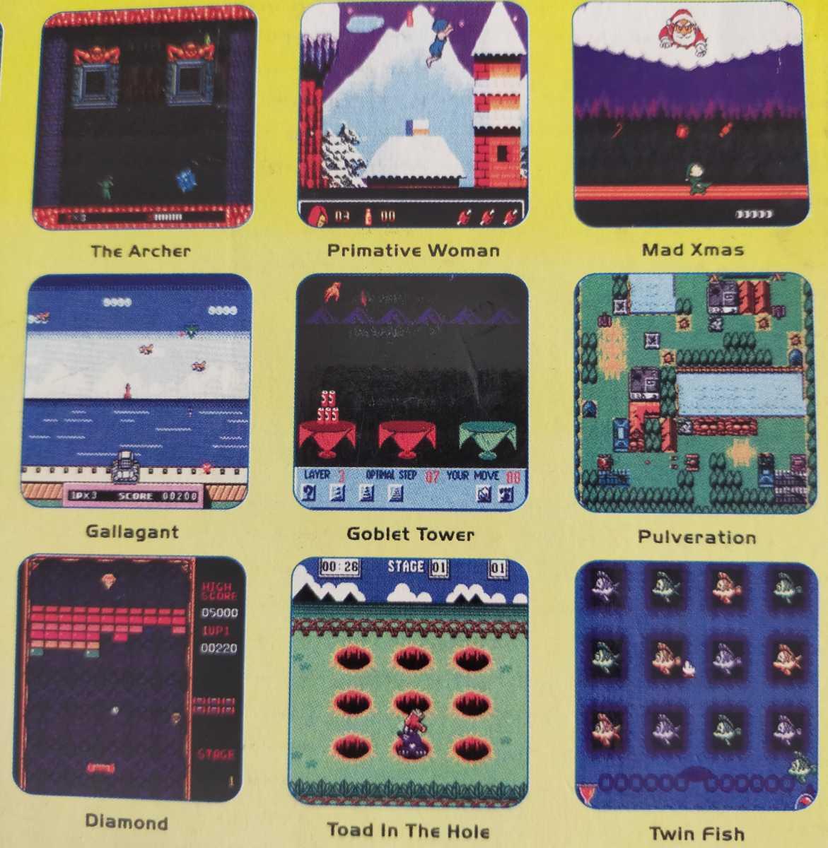 開封済 Streamline TV ゲーム 38種類のゲーム機 振動機能付き