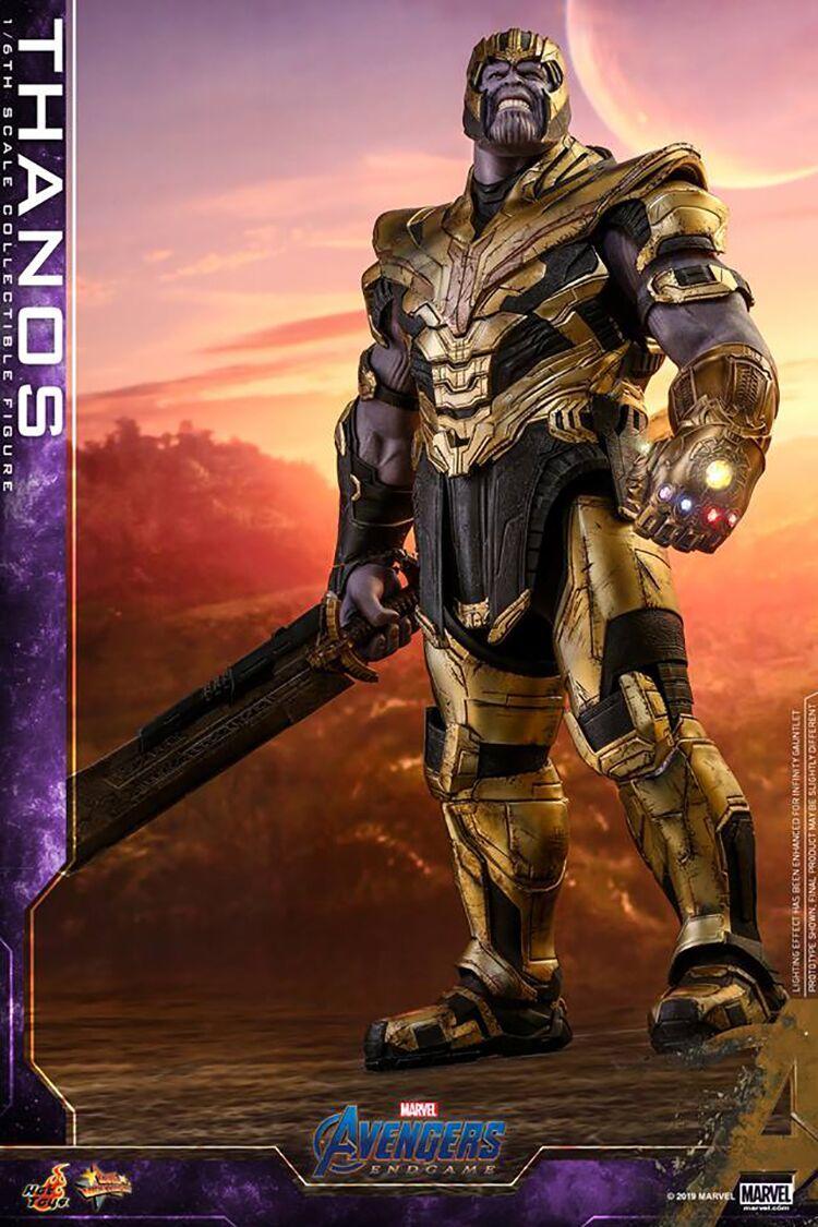 新品 未開封 Hottoys ホットトイズ 1/6 スケールフィギュア アベンジャーズ エンドゲーム Avengers Endgame サノス Thanos MMS529 _画像2