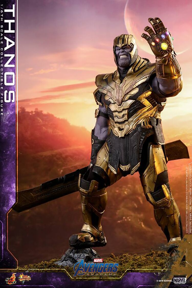 新品 未開封 Hottoys ホットトイズ 1/6 スケールフィギュア アベンジャーズ エンドゲーム Avengers Endgame サノス Thanos MMS529 _画像3
